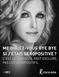 Véronique Cloutier campagne Si j'étais séropositive