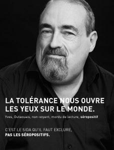 Affiche campagne 2012 cocq-sida