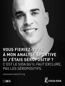 Affiche Cocq-sida Mathieu Proulx